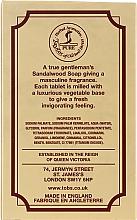 Mydło w kostce dla mężczyzn Drzewo sandałowe - Taylor of Old Bond Street Sandalwood Soap — фото N2