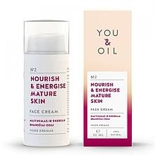 Kup Krem do twarzy Odżywienie i energia - You & Oil Nourish & Energise Mature Skin Face Cream