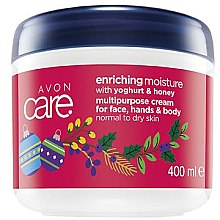 Kup Regenerujący nawilżający krem do twarzy, rąk i ciała do skóry normalnej i suchej Jogurt i miód - Avon Care Enriching Moisture Cream