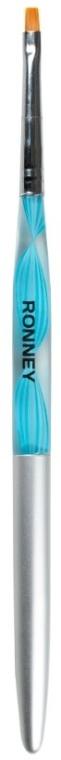 Pędzelek do zdobienia paznokci, RN 00424 - Ronney Professional Gel Brush 4 — фото N1