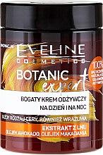 Kup Bogaty krem odżywczy do twarzy na dzień i na noc Ekstrakt z lnu - Eveline Cosmetics Botanic Expert