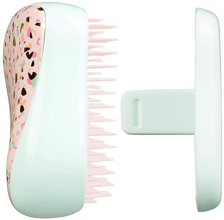 Kompaktowa szczotka do włosów - Tangle Teezer Compact Styler Terazzo  — фото N3