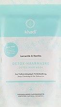 Kup Detoksykująca maska oczyszczająca do włosów - Khadi Detox Hair Mask
