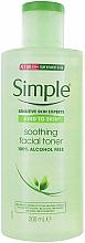 Kup Kojący tonik do twarzy - Simple Kind To Skin Soothing Facial Toner
