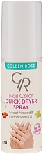 Kup Utrwalacz do paznokci - Golden Rose Nail Quick Dryer Spray
