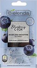 Kup Nawilżająco-rozświetlająca maska do twarzy - Bielenda Blueberry C-Tox Face Mask