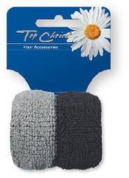 Gumki do włosów 66481, 2 szt. - Top Choice