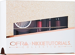 Kup Zestaw - Ofra x Nikkie Tutorials Collection (lipstick/3x6g + highlighter/10g)