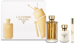 Kup Prada La Femme Prada - Zestaw (edp/100ml + b/lot/100ml + edp/mini/10ml)
