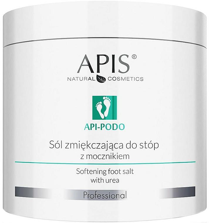 Sól zmiękczająca do stop z mocznikiem - Apis Professional Api-Podo Softening Foot Salt With Urea — фото N1