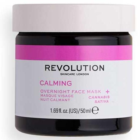 Maska do twarzy na noc - Revolution Skincare Stressed Mood Calming Night Face Mask — фото N1