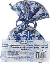 Woreczek zapachowy, biało-niebieski - Essencias De Portugal Tradition Charm Air Freshener — фото N2
