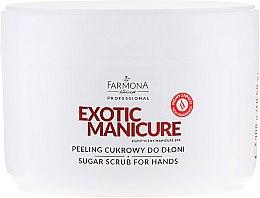 Kup Peeling cukrowy do dłoni - Farmona Professional Exotic Manicure Egzotyczny Manicure Spa