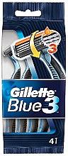 Kup Zestaw jednorazowych maszynek do golenia, 4 szt. - Gillette Blue 3
