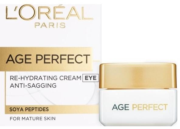 Krem pod oczy - L'Oreal Paris Age Perfect Re-Hydrating Eye Cream