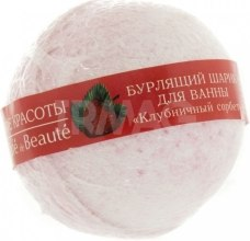 Kup Kula do kąpieli Sorbet truskawkowy - Le Café de Beauté Bubble Ball Bath