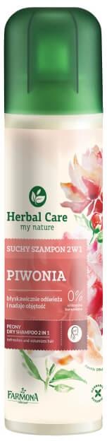 Suchy szampon 2 w 1 Piwonia - Farmona Herbal Care