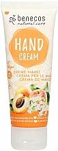 Kup Krem do rąk Morela i czarny bez - Benecos Natural Care Apricot & Elderflower Hand And Nail Cream