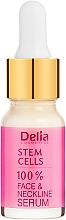 Kup Intensywne serum przeciwzmarszczkowe do twarzy, szyi i dekoltu z komórkami macierzystymi - Delia Professional Face Care Stem Cells