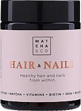 Kup Kapsułki witaminowe na zdrowe włosy i paznokcie - Matcha & Co Hair & Nails Capsules