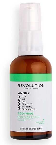 Kojący i nawilżający krem do twarzy - Revolution Skincare Angry Mood Soothing Moisture Cream — фото N1