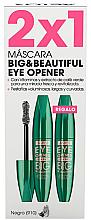 Kup Zestaw - Astor Big & Beautiful Eye Opener Set (mascara/2x12ml)