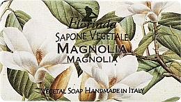 Kup Mydło naturalne w kostce Magnolia - Florinda Sapone Vegetale Magnolia