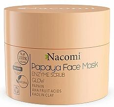 Kup Maska enzymatyczna Papaya - Nacomi Papaya Face Mask Enzyme Scrub