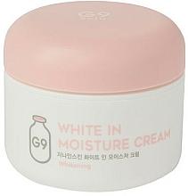 Kup Rozjaśniający krem nawilżający - G9Skin White In Moisture Cream