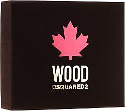 Zestaw dla mężczyzn - DSQUARED2 Wood Pour Homme (edt 50 ml + sh/gel 50 ml + ash/balm 50 ml) — фото N1