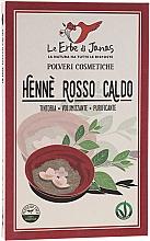 Kup Proszek do włosów Lawsonia - Le Erbe di Janas Red Henna Hot Shades