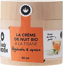 Kup Krem do twarzy na noc na wywarze z ziół - Beauty Garden Night Cream