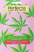 Kup Intensywnie nawilżająca maska do twarzy - Perfecta Relaxed Jamaica Happy & Relaxed Mask