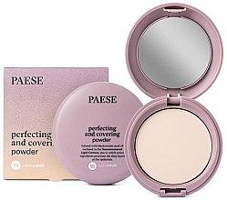 Kup Matujący puder w kompakcie do twarzy - Paese Perfecting & Covering Nanorevit Powder
