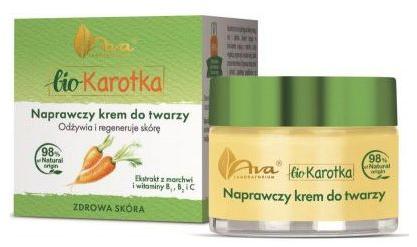 Naprawczy krem do twarzy - Ava Laboratorium Bio Karotka Face Cream