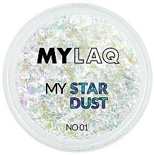 Kup Brokatowy pyłek do paznokci - MylaQ My Star Dust