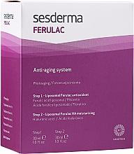 Kuracja zwalczająca oznaki starzenia - SesDerma Laboratories Ferulac Antiaging System — фото N2