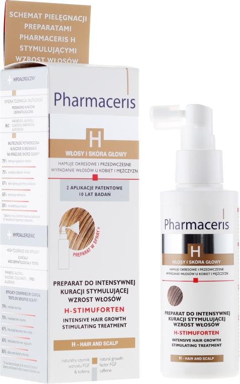 Preparat do intensywnej kuracji stymulującej wzrost włosów - Pharmaceris H-Stimupurin Intensive Hair Growth Stimulating Treatment