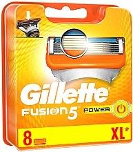 Kup Wymienne wkłady do maszynki, 8 szt. - Gillette Fusion Power