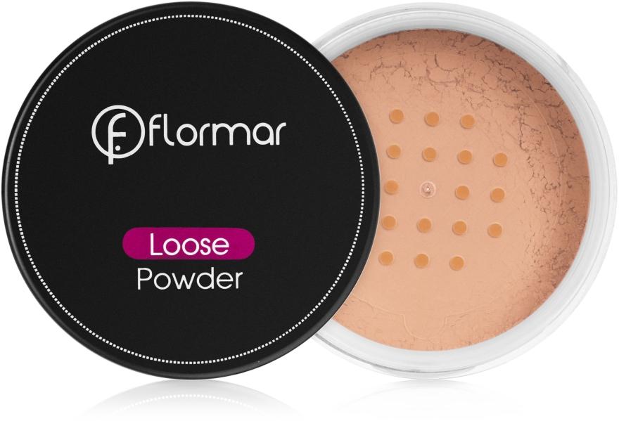 Sypki puder matujący - Flormar Loose Powder