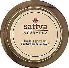 Ziołowy krem na dzień - Sattva Ayurveda — фото N1