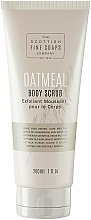 Kup Peeling do ciała - Scottish Fine Soaps Oatmeal Body Scrub