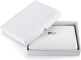 Kup Biała kosmetyczka Lucky w pudełku (21 x 16 x 3 cm) - Makeup