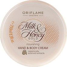 Kup Odżywczy krem do rąk i ciała Mleko i miód - Oriflame Milk & Honey Gold Nourishing Hand And Body Cream
