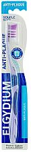 Kup Szczoteczka do zębów, miękka, fioletowa - Elgydium Anti-Plaque Soft Toothbrush