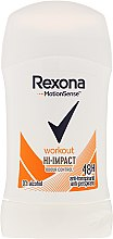 Antyperspirant w sztyfcie - Rexona Motionsense Workout Hi-impact 48h Anti-perspirant — фото N1