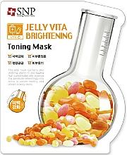 Kup Rozjaśniająca maseczka w płachcie do twarzy - SNP Jelly Vita Brightening Toning Mask