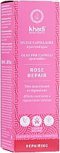 Kup Intensywnie regenerujący olejek do włosów - Khadi Ayuverdic Rose Repair Hair Oil