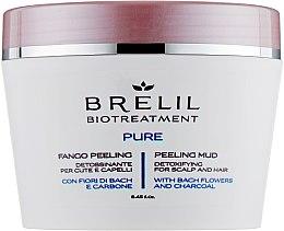 Kup Peelingujące błoto detoksykujące do skóry głowy i włosów - Brelil Bio Traitement Pure Peeling Mud