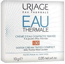 Kup Kremowy podkład z wodą termalną do twarzy - Uriage Eau Thermale Water Tinted Cream Compact SPF30